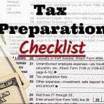 Clarity Tax Service's 2017 Tax Preparation Checklist